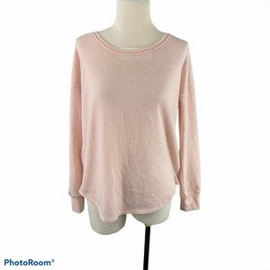 ROOTS Pink Sweater